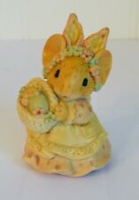 Vintage 1991 Ganz Little Cheesers Easter Mouse #05652