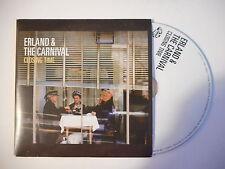 ERLAND & THE CARNIVAL : CLOSING TIME [ CD ALBUM PROMO PORT GRATUIT ]