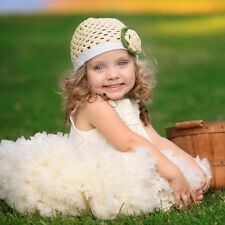 Girls Flutter by Huggalugs Ivory Ruffled Pettitop, in a Size up to 12m Boutique