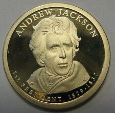 2008-S Andrew Jackson DCAM Proof Golden Dollar Bargain Priced Shipped Free