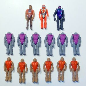 Air Raiders - lot of 15 Figures - Battle Squad & Enforcers Soldiers Hasbro 1987