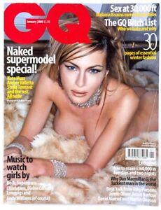 Melania Knauss Trump Glen Campbell Paolo Roversi & Beck GQ MAGAZINE January 2000