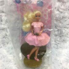 VTG Mattel Locket Surprise Barbie Figurine Sealed McDonalds Happy Meal Toy No 5
