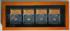 Boxed 2009 Lincoln Cent ANACS PR70 DCAM First Day of Issue - 4 Coin Proof set