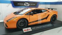 MAISTO 1:18 Diecast Model Car Special Lamborghini Gallardo Superleggera - Orange