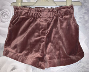 Girls Age 18-24 Months - Next Velvet Shorts