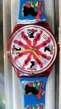 Watch SWATCH Vintage 1991 Model Chicchirichi Collector New IN Sa Box