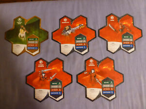 Heroscape Expansion Wave 7 (Fields of Valor) Complete, Pre-Owned, Free Shipping