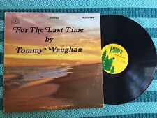 New listing For the Last Time by Tommy Vaughan signed LP Ranger Records RLP-S 409 VG