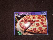 """HOT PEPPERONI PIZZA"" *PuzzleBug* CraZart* 18.25"" X 11"" Puzzle (300 Pieces)*NEW!"