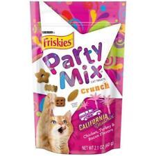 5Pk Friskies Party Mix California Dreamin' Crunch Cat Treats