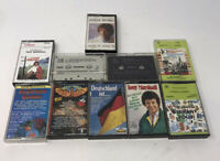 German Cassettes Tape Stereo - Lot of 10 - Tony Marshall Hits Favorite Melodies