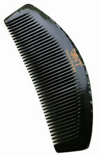 UK Seller! Handcraft Black Buffalo Horn Detangling Hair Care Comb Gift 15.5cm