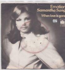 Samantha Sang-Emotion Vinyl single