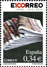 Spain 2010, series Centenary daily mail (mnh)/cf5145