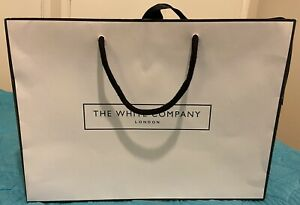 The White Company Empty Gift Bag Size 34x24cm