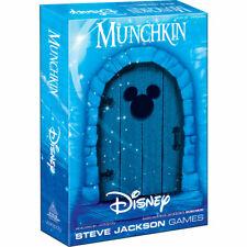 MUNCHKIN® Disney  Age 10+  3-6 PLAYERS  60+ MINUTES