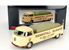 Schuco VW Bulli T1 Pick Up Race Transporter Bunker 1:18*New Item! NICE!!