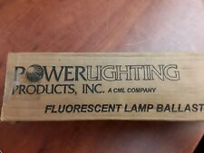 Power Lighting Products Valmiser 8G1211W Fluorescent Lamp Ballast