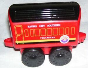 lionel golden bell plastic child scale train Kansas City Southern passenger car