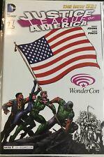 Justice League of America #1 WONDERCON 2013 Variant American Flag DC Comics