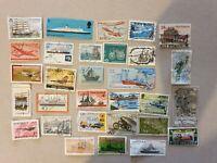 mixed transport 30 stamps