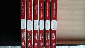 Livres j'ai lu-Aventures et Passions. Lot de 6 livres neuf
