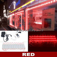 10~100FT 5050 SMD 3 LED Module Bar Window Light Club Store Front Sign Light Lamp