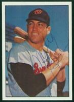 Original Autograph of Mike Epstein of the Senators on a 1978 TCMA Card