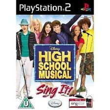 High School Musical: Sing It (Sony PlayStation 2, 2007) - Versión Europea