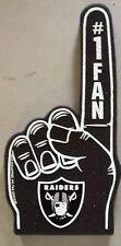 Oakland Raiders Foam Finger #1 Fan - 18 in! Great for Game Day Party!