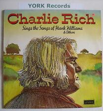 CHARLIE RICH - Sings The Songs Of Hank Williams - Ex LP