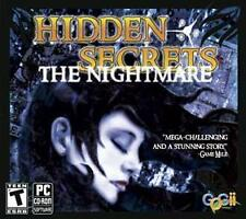 Hidden Secrets: The Nightmare (PC CD-ROM, 2008) Hidden Objects Game!