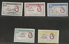 Guernsey SARK 1965 Churchill Lib SET PROOF INVERT UM