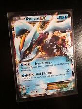 EX KYUREM EX Pokemon PROMO Card BW37 Black Star Set Collector Tin Black&White