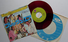 "7"" QUICKSILVER FRESH AIR / JUST FOR LOVE JAPAN 1971 RED VINYL HARD PSYCH ROCK"