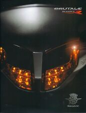2011 MV Agusta Brutale 1090R 16 page Italian language over-sized sales catalog