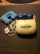 Chi Maxx Massage Trainer Maschine GEGEN SCHMERZEN Wellness Massagegerät +Kissen