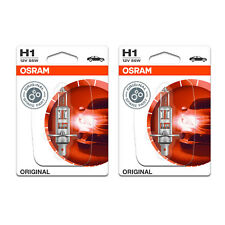 2x Vauxhall Signum H1 Genuine Osram Original High Main Beam Headlight Bulbs Pair