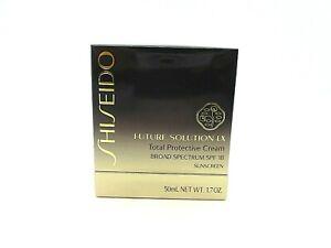 Shiseido Future Solution LX Total Protective Cream SPF Sunscreen 18 ~ 1.7 oz ~