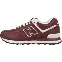 New Balance ML 574 LUD Schuhe burgundy powder ML574LUD Freizeit Sneaker M574 410