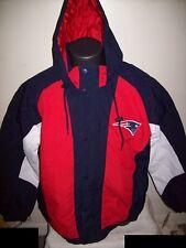 NEW ENGLAND PATRIOTS STARTER Hooded Parka Winter Jacket  M, L, XL
