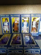 Vintage Hero of the American Revolution complete set of 7 Figures