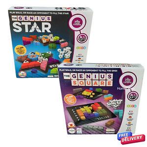 The Genius Square And Genius Star Educational Dice Games The Happy Puzzle