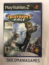 EVERYBODY'S GOLF PS2 NUOVO SIGILLATO