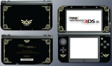 Legend of Zelda Special Edition Black Gold Skin Decal NEW Nintendo 3DS XL 2015