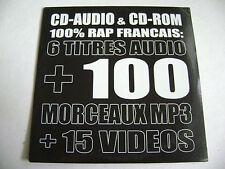 Underground Magazine No. 6 - CD-Audio & CD-ROM 100% Rap Français