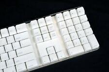 APPLE MAC FULL-SIZE WHITE BLUETOOTH WIRELESS KEYBOARD A1016 W/ NUMERIC KEYPAD