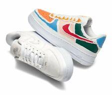 "Nike Air Force 1 LX ""Reveal"" White Multi-color CJ1650-100 Women's Size"