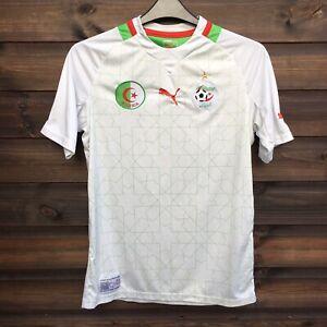 Puma ALGERIA 2012-2014 Home Football Shirt Top Jersey Mens Size MEDIUM, White